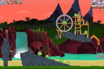 Angry Birds Friends Surf and Turf Уровень 30