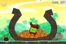 Angry Birds Seasons Go Green Get Lucky Золотое Яйцо 2 - Горшок с Золотом