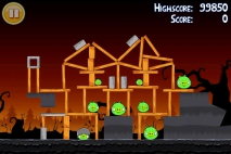 Angry Birds Seasons Trick or Treat уровень 1-10