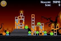 Angry Birds Seasons Trick or Treat уровень 1-11
