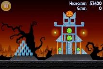 Angry Birds Seasons Trick or Treat уровень 1-3