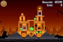 Angry Birds Seasons Trick or Treat уровень 1-6