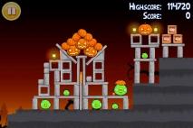 Angry Birds Seasons Trick or Treat уровень 1-8