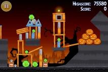 Angry Birds Seasons Trick or Treat уровень 1-9