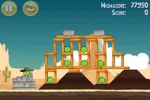 Angry Birds Ham 'em High уровень 12-1