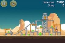 Angry Birds Ham 'em High уровень 12-10