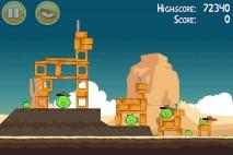 Angry Birds Ham 'em High уровень 12-11