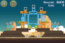 Angry Birds Ham 'em High уровень 12-12