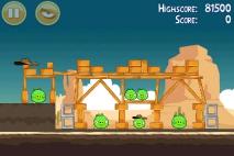 Angry Birds Ham 'em High уровень 12-13