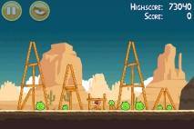 Angry Birds Ham 'em High уровень 12-14