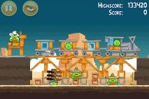 Angry Birds Ham 'em High уровень 12-15