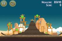 Angry Birds Ham 'em High уровень 12-2