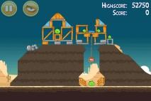 Angry Birds Ham 'em High уровень 12-3