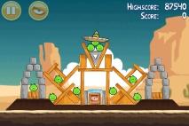 Angry Birds Ham 'em High уровень 12-4