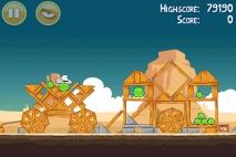 Angry Birds Ham 'em High уровень 12-5