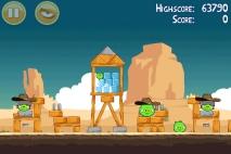 Angry Birds Ham 'em High уровень 12-6