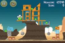 Angry Birds Ham 'em High уровень 12-7
