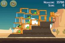 Angry Birds Ham 'em High уровень 12-8