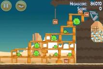 Angry Birds Ham 'em High уровень 12-9