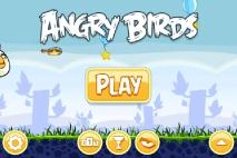 Главное меню Angry Birds с иконкой Могучего Орла