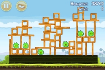 Angry Birds Mighty Hoax уровень 4-12
