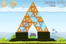 Angry Birds Mighty Hoax уровень 4-17