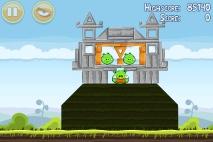 Angry Birds Mighty Hoax уровень 4-18