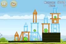 Angry Birds Mighty Hoax уровень 4-19