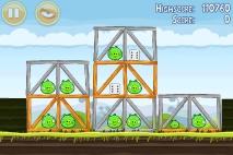 Angry Birds Mighty Hoax уровень 4-20