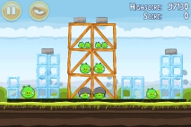 Angry Birds Mighty Hoax уровень 4-5