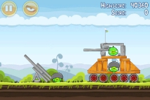 Angry Birds Mighty Hoax уровень 4-9