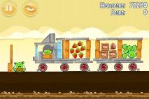 Angry Birds Mighty Hoax уровень 5-12