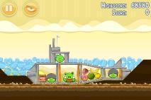 Angry Birds Mighty Hoax уровень 5-13