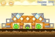Angry Birds Mighty Hoax уровень 5-14