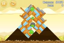 Angry Birds Mighty Hoax уровень 5-15