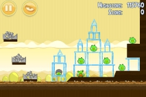 Angry Birds Mighty Hoax уровень 5-16