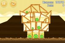 Angry Birds Mighty Hoax уровень 5-17