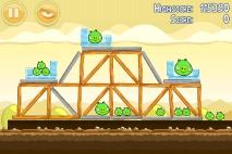 Angry Birds Mighty Hoax уровень 5-18