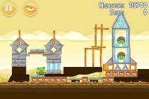 Angry Birds Mighty Hoax уровень 5-19