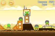 Angry Birds Mighty Hoax уровень 5-2