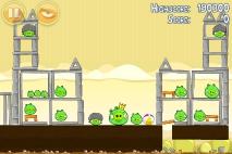 Angry Birds Mighty Hoax уровень 5-21