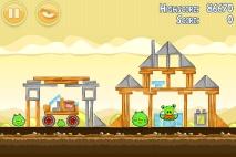 Angry Birds Mighty Hoax уровень 5-3