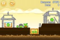 Angry Birds Mighty Hoax уровень 5-5