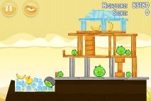 Angry Birds Mighty Hoax уровень 5-6