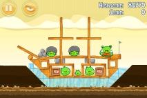 Angry Birds Mighty Hoax уровень 5-8