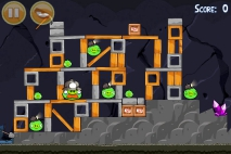 Angry Birds Mine and Dine уровень 15-10
