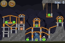 Angry Birds Mine and Dine уровень 15-12