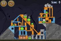 Angry Birds Mine and Dine уровень 15-13