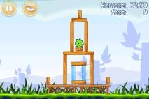Angry Birds Poached Eggs уровень 1-1