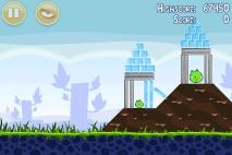 Angry Birds Poached Eggs уровень 1-10